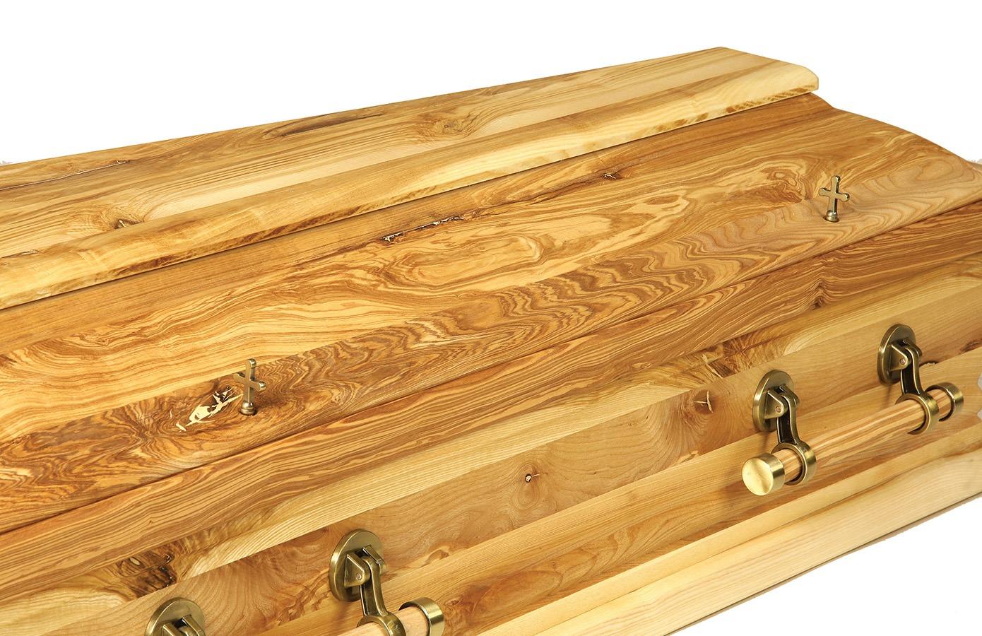 The Bog Oak Coffin or Casket
